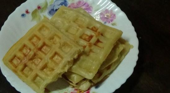 Simple Eggless Waffle recipe || With waffle maker || Sanvi's Creative World