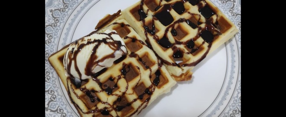 Vaishali Patel's Kitchen Quick and Easy Waffles Recipe,Crispy Belgian Waffles