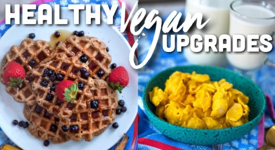 Vegan Waffles, Mac N Cheese, & Milk Recipes: 3 Healthy Plant-based Upgrades