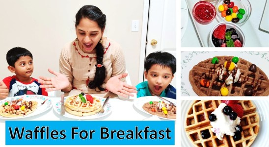 classic waffles|#breakfastrecipes Telugu Vlogs in USA Life in USA~Indians in America