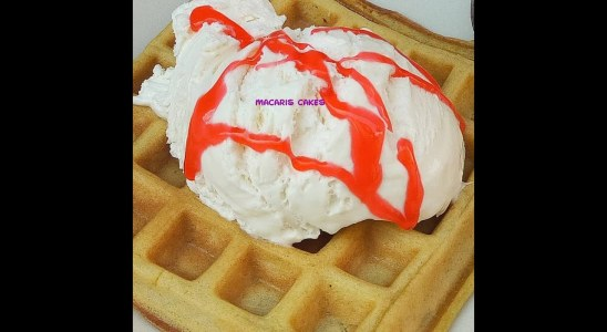 How to make Easy home made waffles recipe