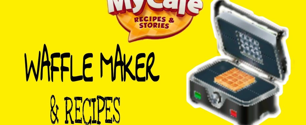 My Cafe Recipes and Stories Waffle Maker