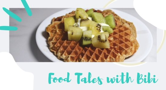 Quick & Easy breakfast idea: High protein waffles!