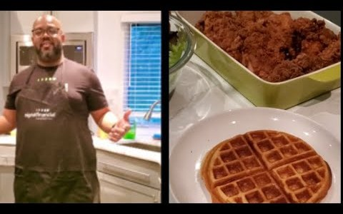 Signal Chefs - Larry's Spicy Fried Chicken & Sweet Waffles Recipe