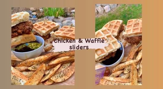 The best Chicken & Waffle recipe: Chicken & Waffle sliders