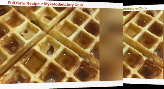 Diet Recipe Appetizing Keto waffles Low Carbo
