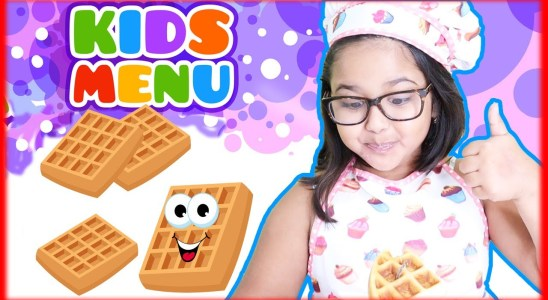Easy Waffles Recipe for Kids | Easy Homemade Belgian Waffle Recipe