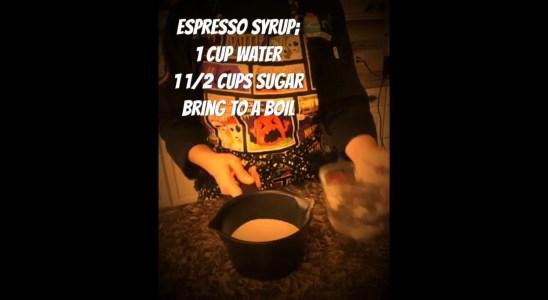 Halloween Wars Episode #1 Recipe. Coffee Caramel Waffles