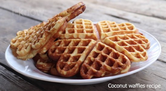 How to Coconut waffles recipe with 60 eggs