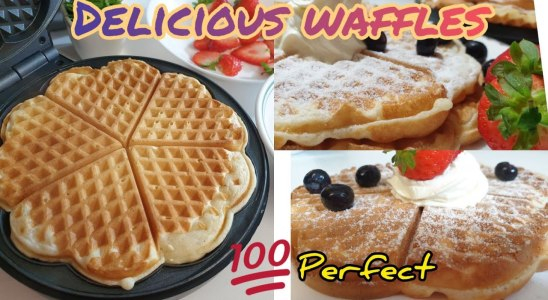 How to make waffles || Waffles Recipe|| #Perfect and #Delicious Waffles ever