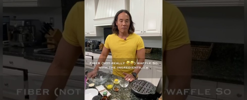 PFF PROTEIN FAT AND FIBER WAFFLES RECIPE