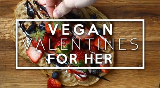 Vegan Valentines For Her | Waffle Recipe, LUSH & Gift