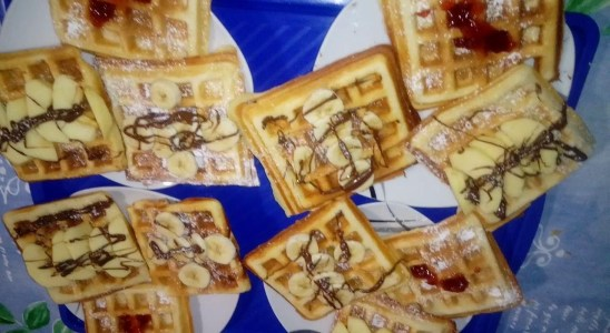 Waffles (ENG+ARA recipe)