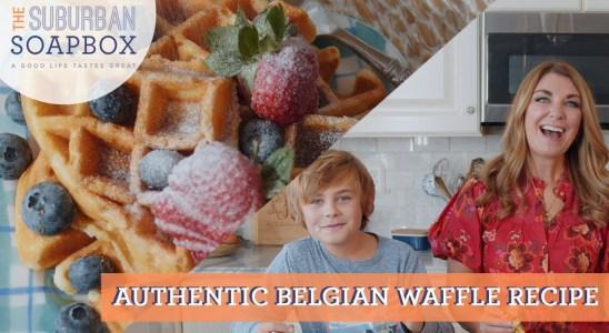 Authentic Belgian Waffles Recipe
