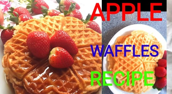 HOMEMADE APPLE WAFFLES RECIPE#SIMPLE BUT FLUFFIEST APPLE WAFFLES RECIPE# MY RECIPE