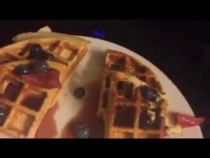 LUNCH + PROTEIN WAFFLES RECIPE IN DESCRIPTION