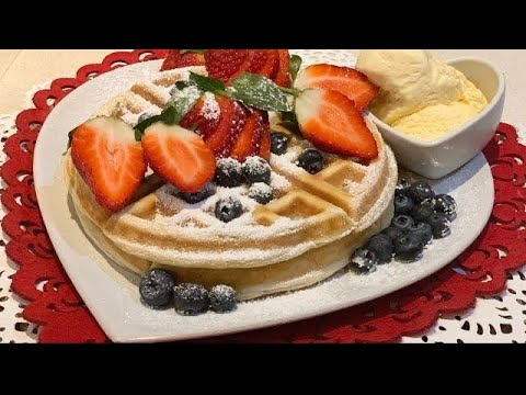 Waffle recipe for beginners  | How to make Quick and Easy Waffle