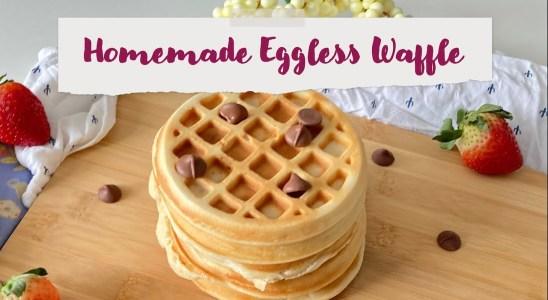 Easy Homemade Waffle Recipe | Easy & Perfect Eggless Waffle Recipe | How to Make waffle At Home