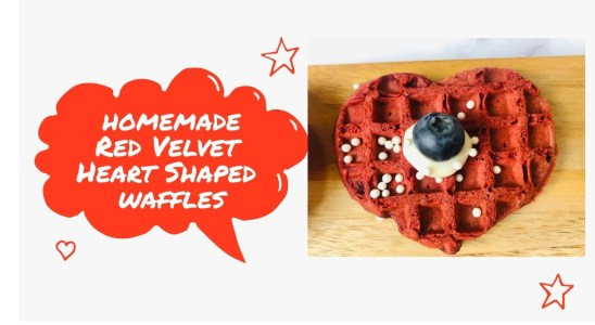 How to make Red Velvet Waffles | Homemade and Delicious | by Leah Pimentel