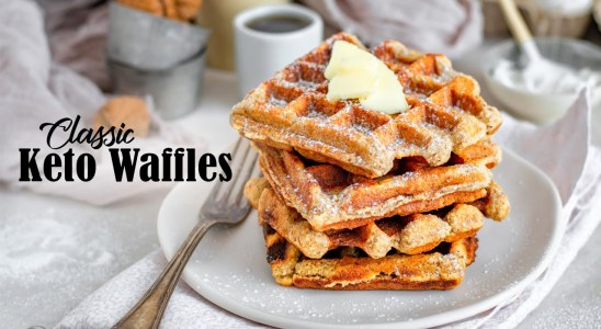 Learn How to Make Keto Waffles | Classic Low Carb Recipe