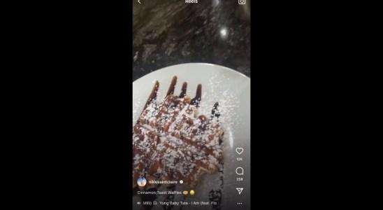 Nikki Hall Quick + Easy Cinnamon Toast Waffles Recipe