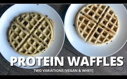 PROTEIN WAFFLES RECIPE | Vegan & Whey Styles