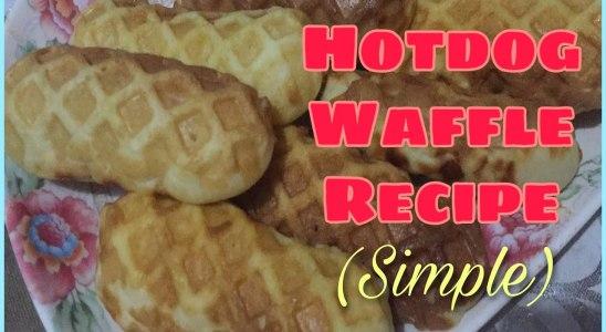 HOTDOG WAFFLE | Homemade Hotdog Waffle Recipe | Easy & Simple | Rhemz Jhem