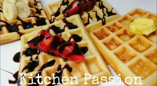 Waffles |Delicious ,easy and quick recipe of waffle |Breakfast recipes | Kitchen Passion