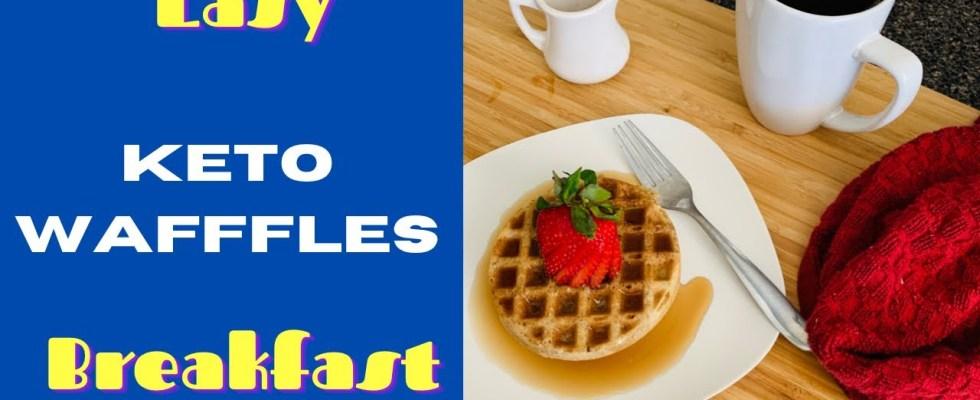 Keto Waffle Chaffle Recipe- How To Make Low Carb Waffles - Easy Breakfast Chaffle