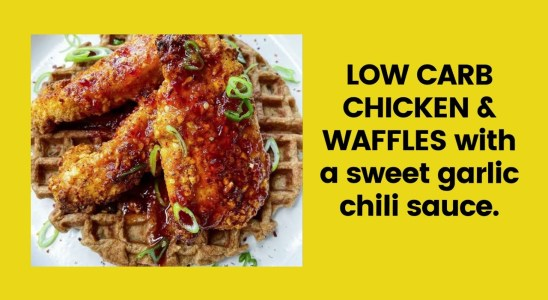 Low Carb Chicken & Waffles|Keto Recipes|Keto Diet For Everyone
