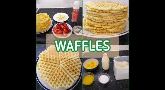 Waffles | EASY, CHEAP MEALS | LUNCH IDEAS