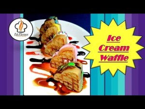 Waffles    Ice cream Waffles    How to make perfect Waffles at home    Fab Flavours