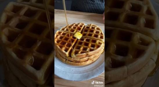 How to Make Waffles | Homemade Waffles | Tik Tok Recipe | Cooking Tik Tok | immiquic