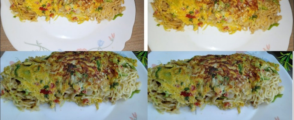 maggi omelette recipe/noodles recipe/#shorts/#recipe by hot and chilli 786