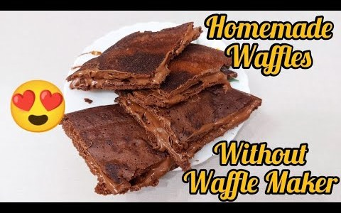 Homemade Waffle || Without Waffle Maker || Very Tasty