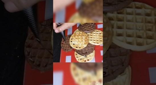 #short #shortvideo #waffles  waffles recipe