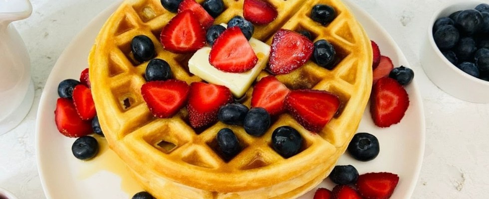Cookery   How to Make the Best Belgian Waffles   Easy Waffle Recipe