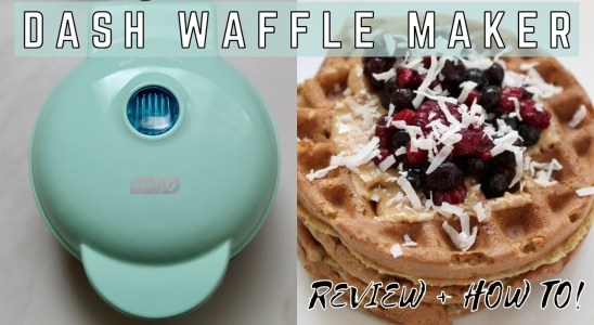Dash Mini Waffle Maker Review, Healthy Recipes, How To Use + How To Clean