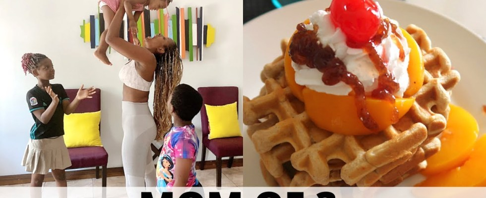 I TRIED MAKING A SISIYEMMIE WAFFLES RECIPE   72 HRS IN THE LIFE OF A NIGERIAN MOM