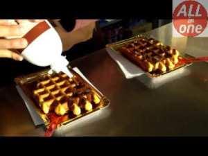 Indain Street Food   Waffle Recipe   Waffles Video   Irfan Food Vlog #shorts