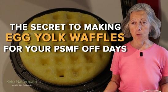 The Secret To Making Egg Yolk Waffles