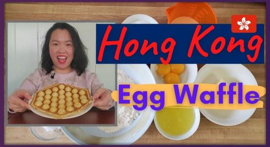CRISPY Hong Kong EGG WAFFLE Recipe!