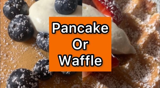 Cooking the Easiest Pancake/Waffle Recipe