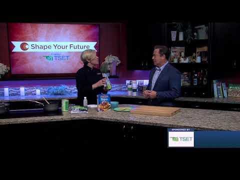 Berry Compote with Waffles   Shape Your Future Recipes   Oklahoma TSET