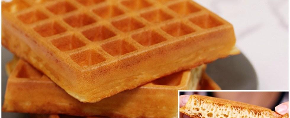 Best Easy Crispy Fluffy Waffles - Recipe By ZaTaYaYummy