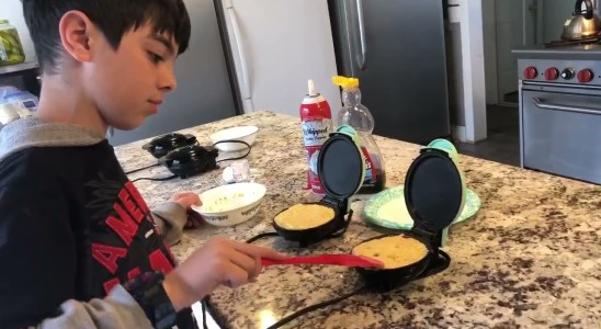KETO Pancakes / Waffles Made By My Son | Recipe | HTM
