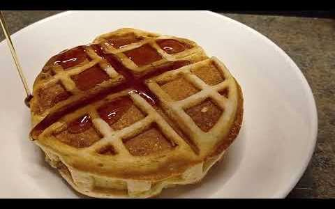 Our fave fluffy waffle recipe
