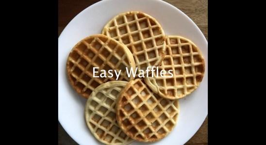 Simple & Easy - Waffles
