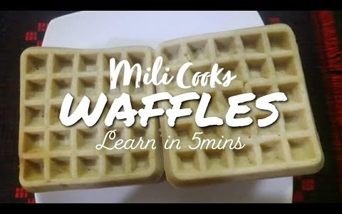 Waffle | Waffle Recipe | Fast & Easy Home made Waffles Recipe in Bangla | Learn in 5 mins #SUBSCRIBE
