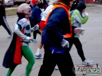 Awesome outfits! (the Martian was chasing the full marathon runners off the line)